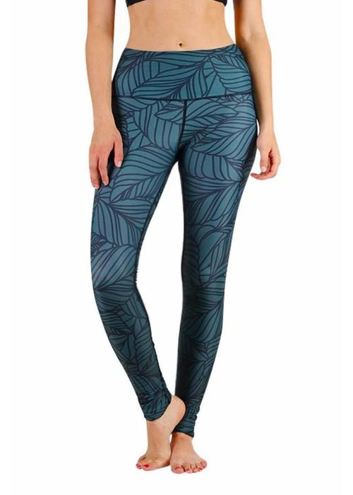 Yoga Democracy Yoga Democracy Yoga Legging - Urban Camo Forest Green