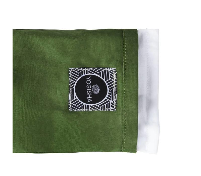 Yogisha Eye Pillow - Olive Green
