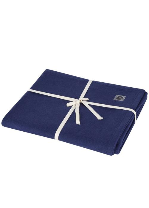 Yogisha Yoga Blanket Organic Cotton - Dark Blue