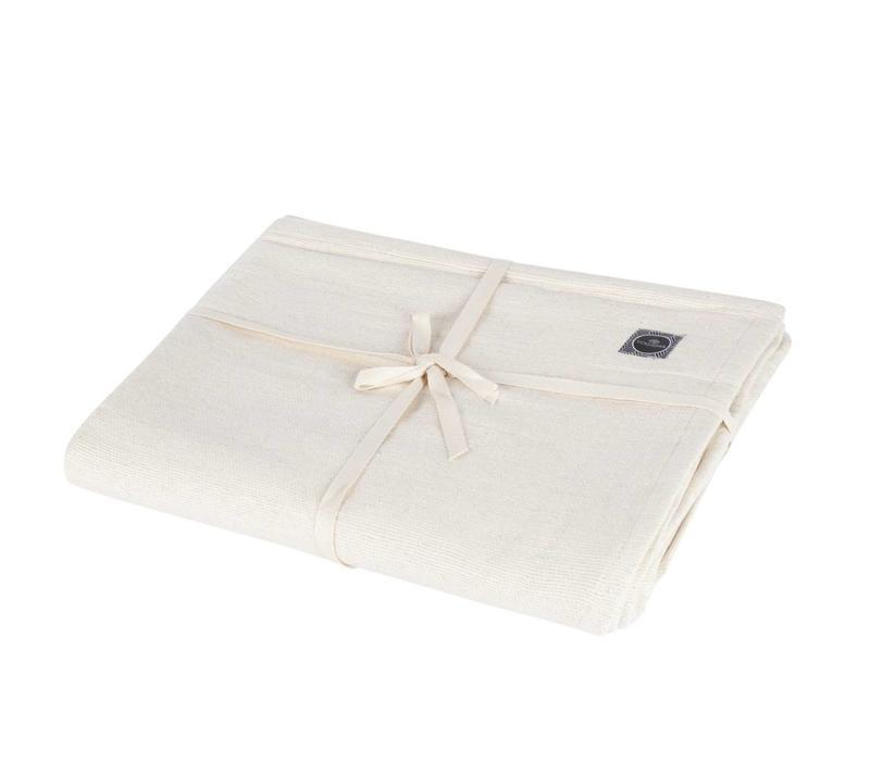 Yoga Blanket Organic Cotton - Natural