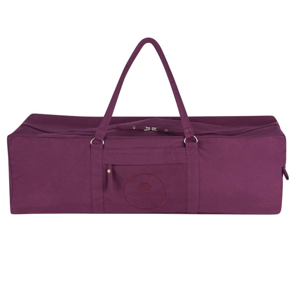 6f8539ec6284 Yoga Bag Extra Large - Aubergine - Yogisha Amsterdam
