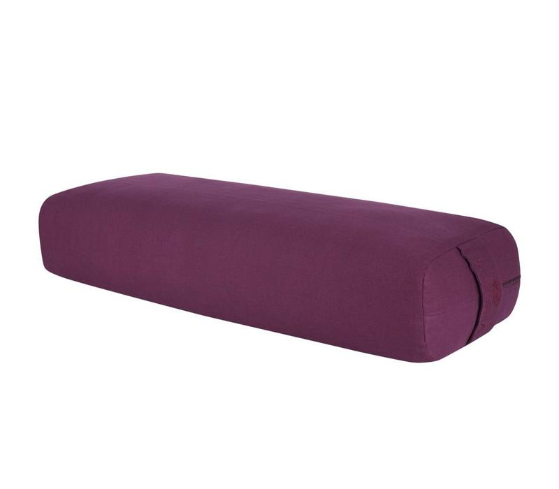 Yoga Bolster Rechthoekig - Aubergine