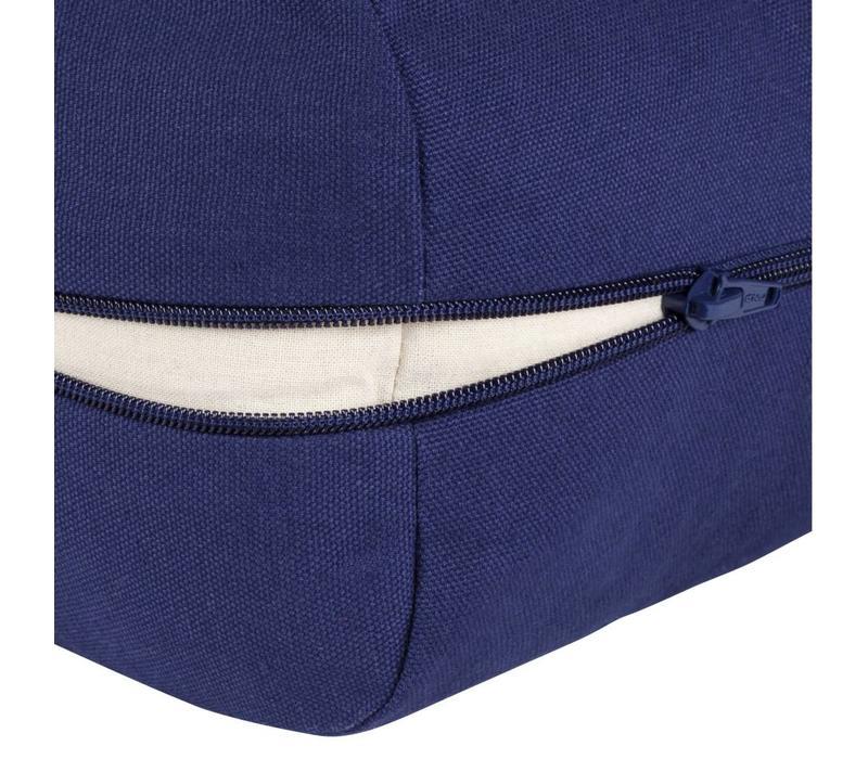 Yoga Bolster Rectangular - Dark Blue