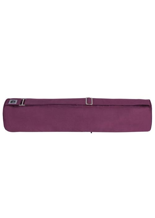 Yogisha Zippered Yoga Mat Bag - Aubergine