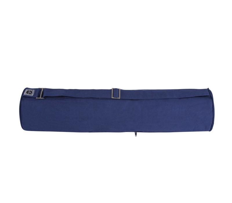 Zippered Yoga Mat Bag - Navy