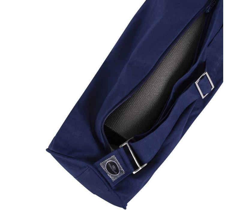 Yogatasche mit Reißverschluss - Dunkelblau