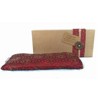 Kusala Eye Pillow Silk - Burgundy