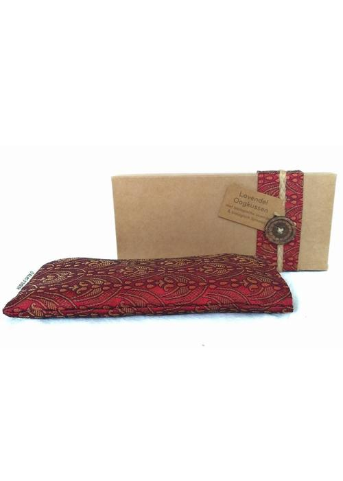 Kusala Kusala Eye Pillow Silk - Burgundy