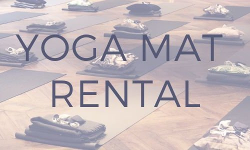 Yoga mat rental
