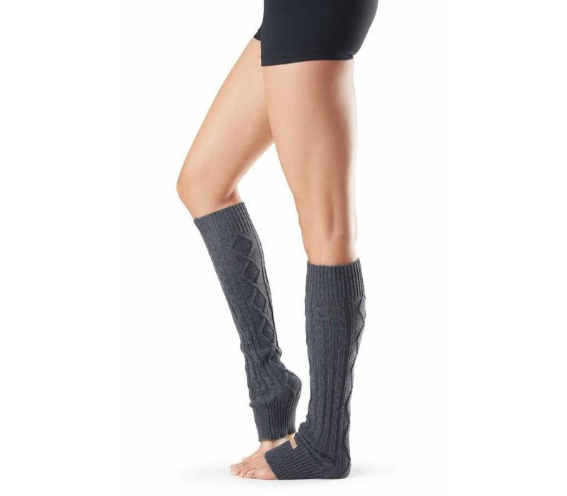 Toesox Leg Warmer - Charcoal