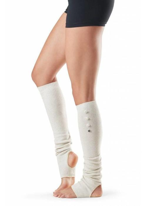 Toesox Toesox Rae Leg Warmer - Vanilla
