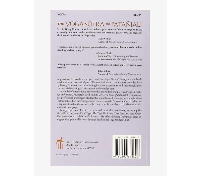 Georg Feuerstein - The Yoga-sutra of Patanjali