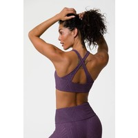Onzie Selenite Heart Bra - Purple Haze