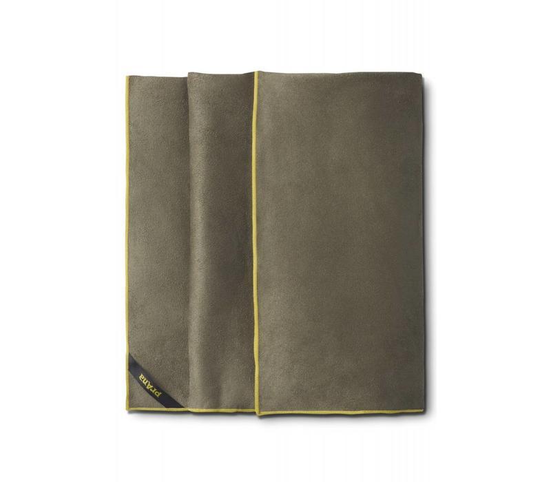 PrAna Maha Yoga Towel - Cargo Green