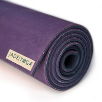 Jade Fusion Yogamat 180cm 71cm 8mm Purple/Midnight