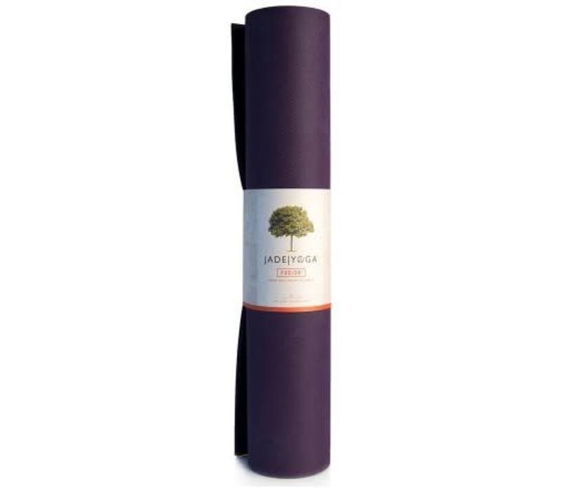 Jade Fusion Yogamat 188cm 60cm 8mm - Purple