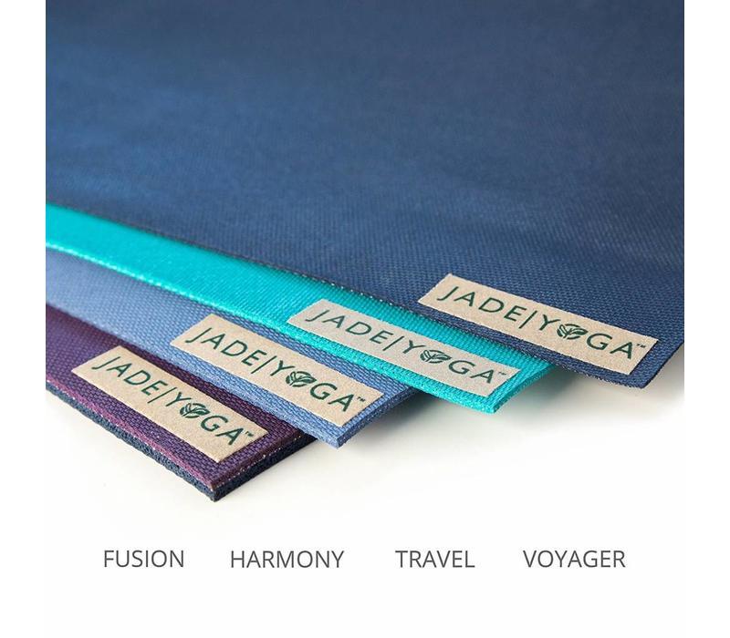 Jade Fusion Yogamatte 203cm 71cm 8mm - Purple/Midnight