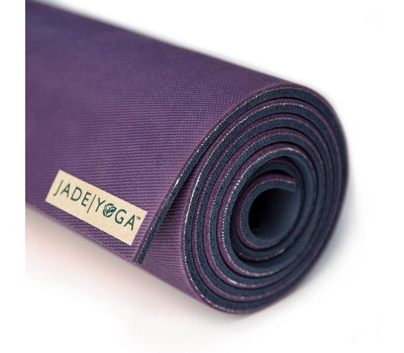Jade Fusion Yogamat 203cm 71cm 8mm - Purple/Midnight
