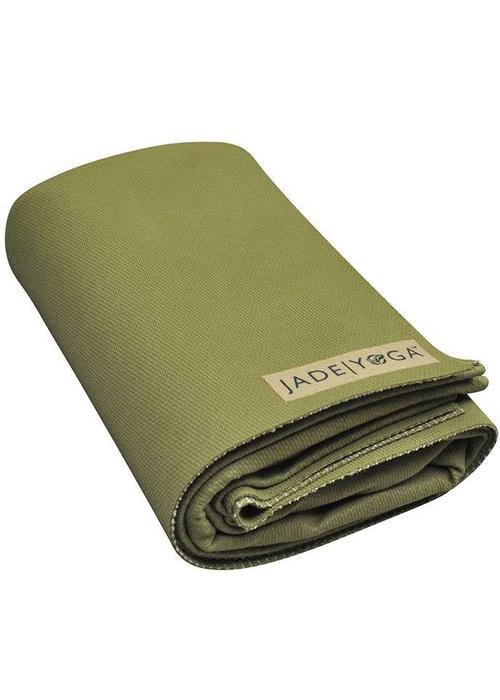 Jade Jade Voyager Yogamat 173cm 60cm 1.5mm - Olive Green