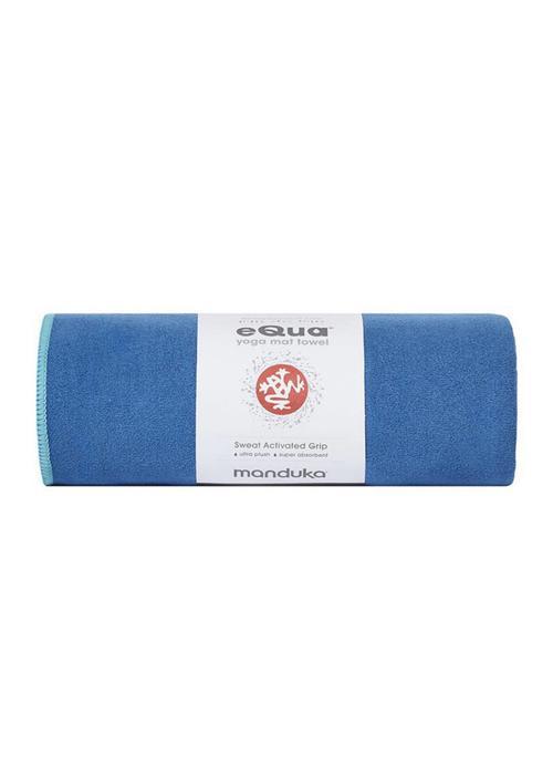 Manduka Manduka eQua Handdoek 182cm 67cm - Pacific Blue