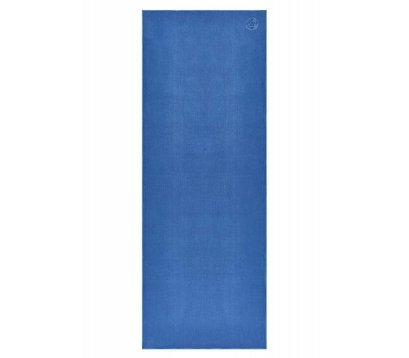Manduka eQua Handdoek 182cm 67cm - Pacific Blue
