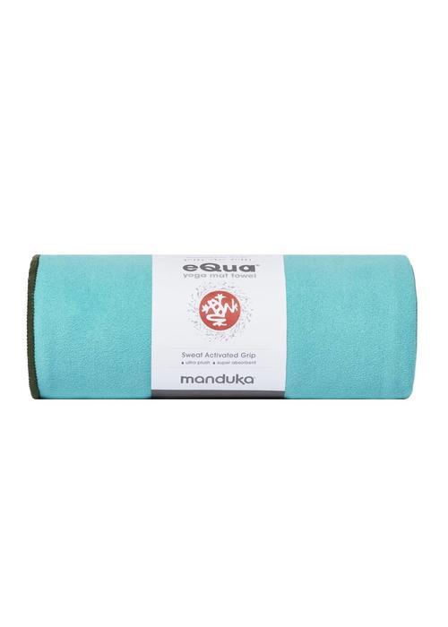 Manduka Manduka eQua Towel 182cm 67cm - Tasmanian Blue
