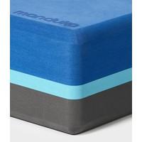 Manduka Recycled Foam Yoga Blok - Pacific Blue