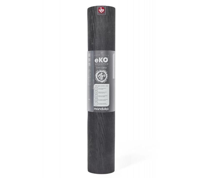 Manduka eKO Yoga Mat 200cm 66cm 5mm - Charcoal