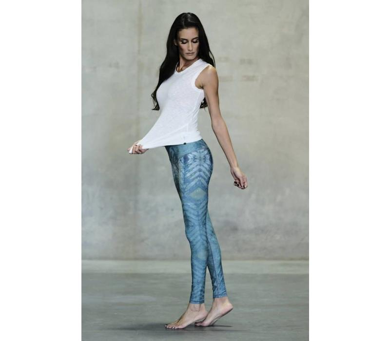 Niyama Sol Barefoot Legging - Sea Glass