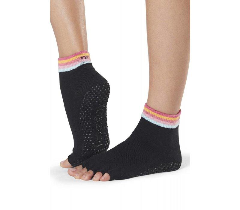 Toesox Ankle Half Toe - Retro