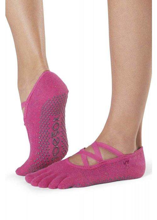 Toesox Toesox Yoga Sokken Elle Dichte Tenen - Fantasy