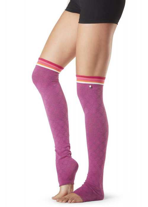 Toesox Toesox Leg Warmer Olivia - Whisper