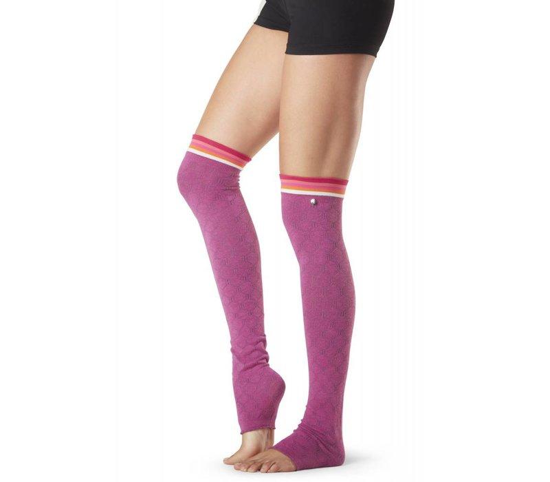 Toesox Leg Warmer Olivia - Whisper