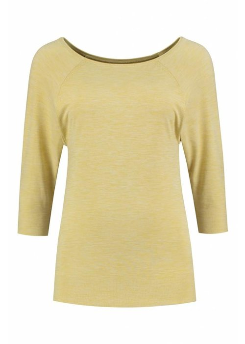 Tame The Bull Tame The Bull Medium Sleeve Yoga Shirt - Rich Gold