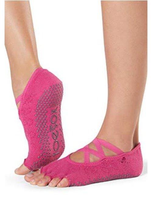 Toesox Toesox Yoga Sokken Elle Open Tenen - Fantasy