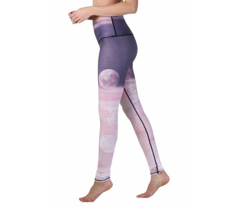 Yoga Democracy Yoga Legging - Lunar The Better