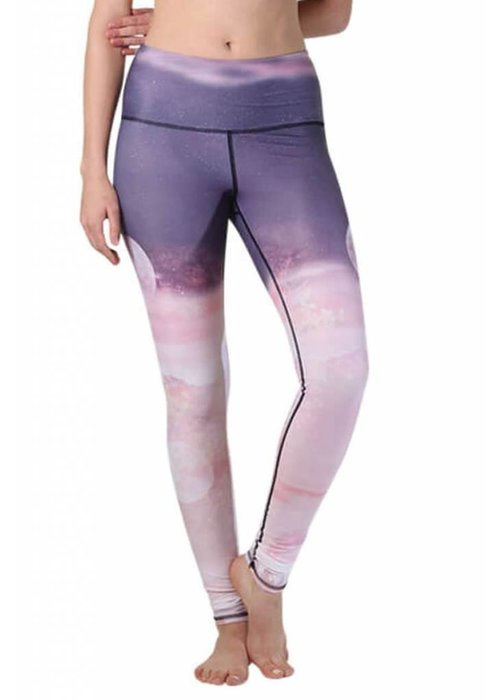 Yoga Democracy Yoga Democracy Yoga Legging - Lunar The Better