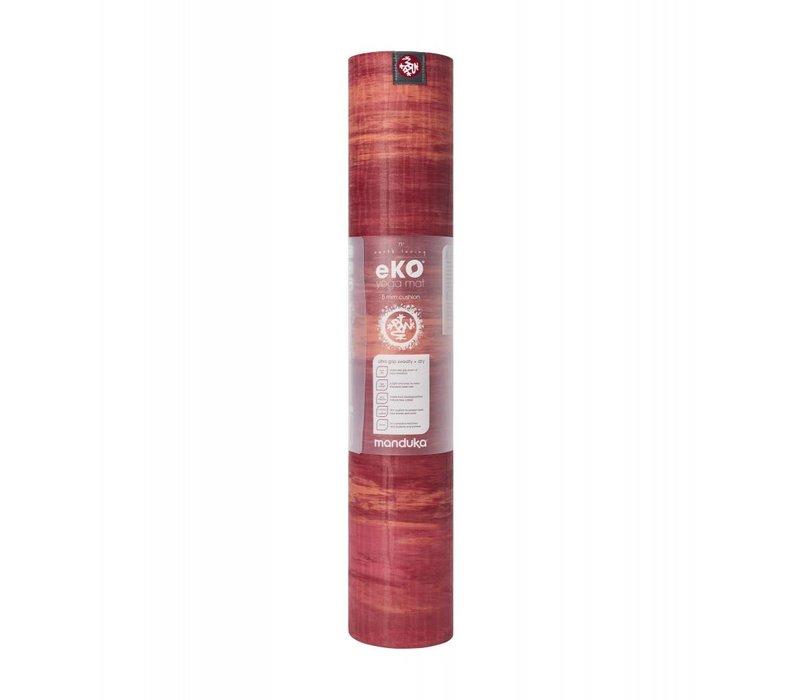 Manduka eKO Yoga Mat 180cm 66cm 5mm - Esperance Marbled