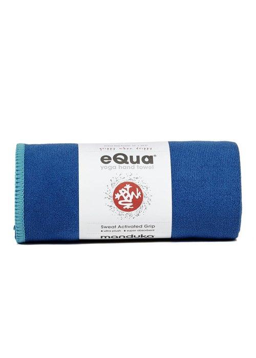 Manduka Manduka eQua Hand Towel 40cm 67cm - Pacific Blue