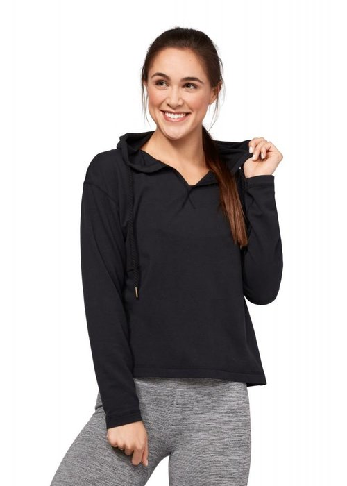 Manduka Manduka Resolution Hoodie - Black