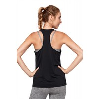 Manduka Breeze Racerback Tank - Black