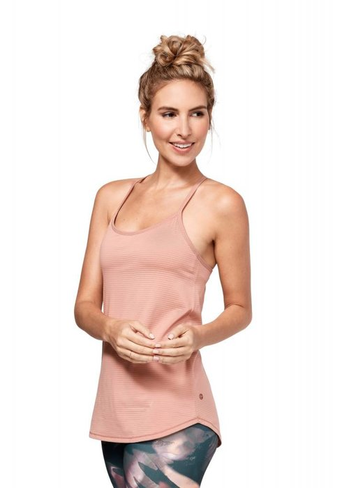Manduka Manduka Breeze Support Cami - Dusty Rose
