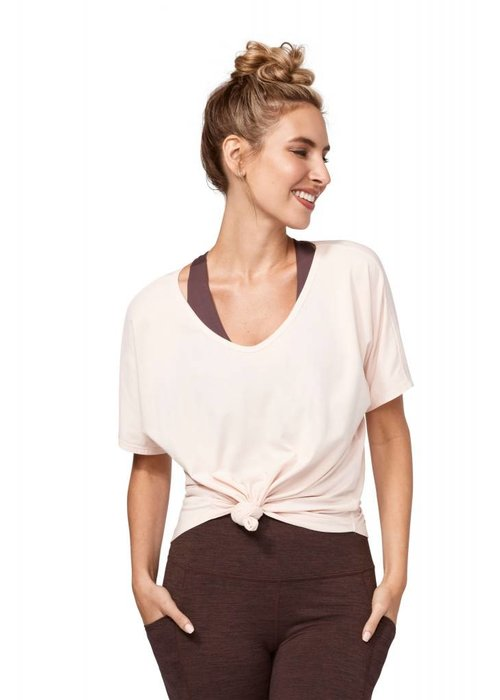 Manduka Manduka Enlight Relaxed Tee - Blush