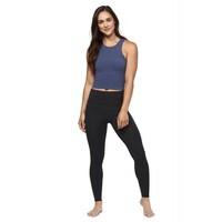 Manduka Eko Soft Hi-Level Legging - Dark Heather Charcoal