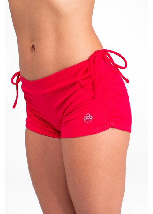 Shakti Activewear Shakti Activewear Side String Shorts - Rusty Red