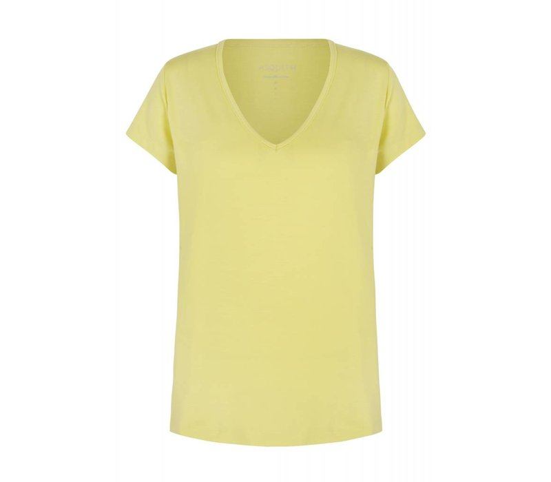 Asquith Spirit Tee - Lemon