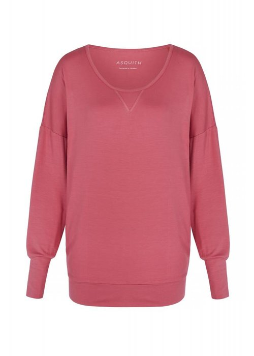 Asquith Asquith Long Sleeve Batwing - Flamingo