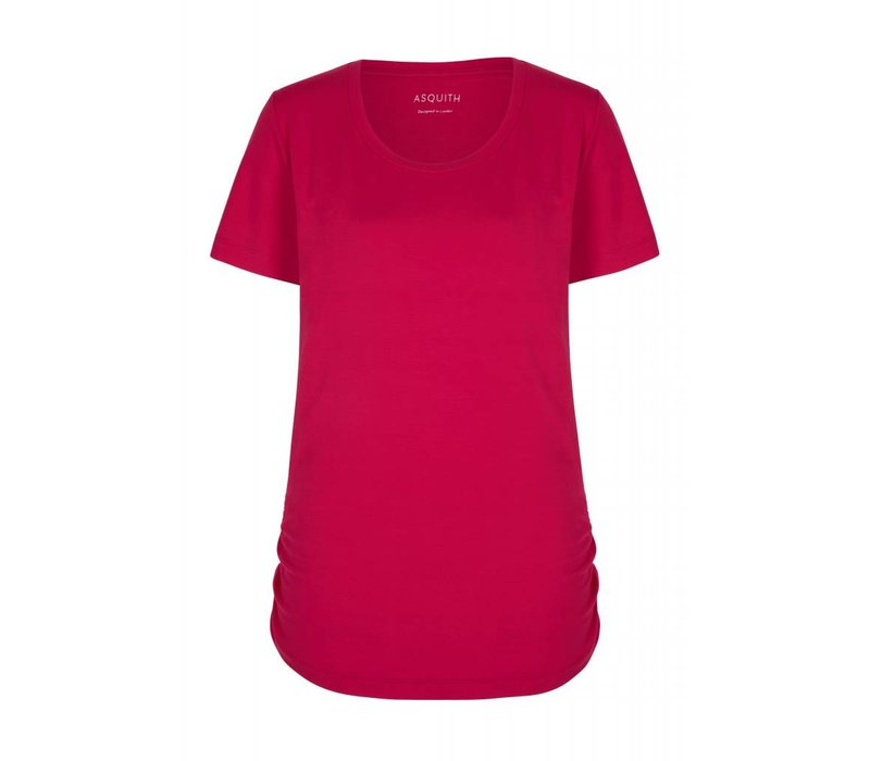 Asquith Bend It Tee - Sunset Pink