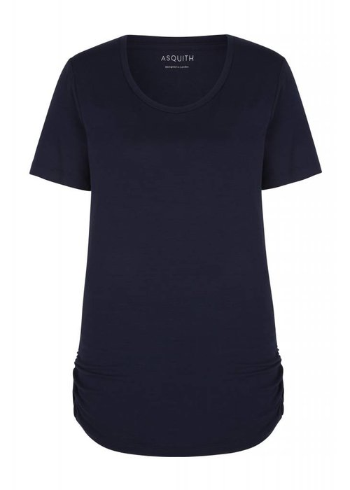 Asquith Asquith Bend It Tee - Navy