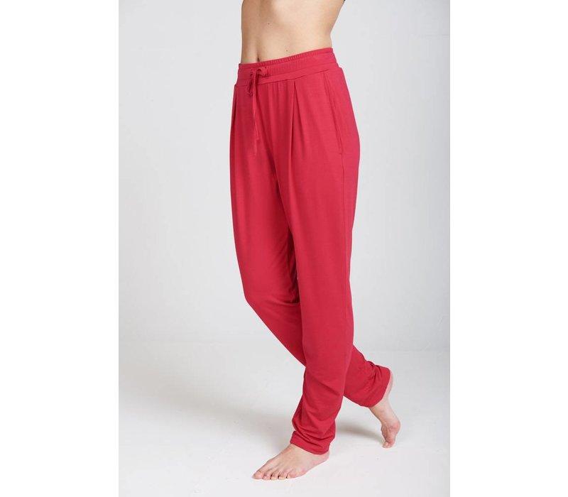 Asquith Drawstring Pants - Sunset Pink